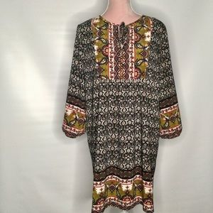 Miin colourful comfortable dress. Made in USA.
